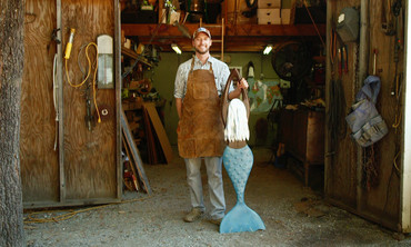 Iron Fish's American Made Steel Coastal Sculptures