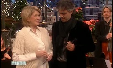 Italian Tenor Andrea Bocelli's Holiday Performance