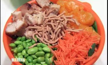 Martha Stewart and Kevin Sharkey Visit Just Salad