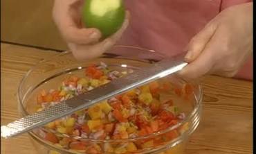 How to Make a Fresh Tropical Fruit Salsa