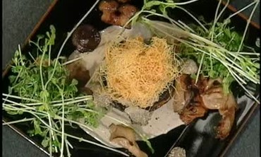 Porcini Mushroom Flan with Mushroom Confit Part 4