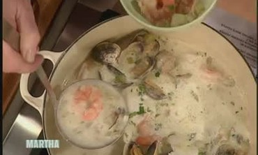 Seafood Chowder with Actress Maura Tierney, Part 2