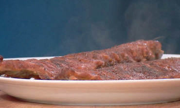 Slow-Roasted Ribs with Brown Sugar Barbeque Sauce