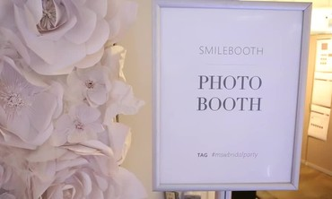 Smilebooth Spotlight from MSW Bridal Market Party