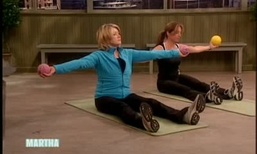 Stress Relieving Workout with Pilates and Weights