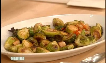 Thanksgiving Brussels Sprouts with Tommy Hilfiger