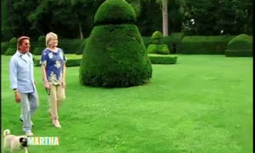 The Gardens and Landscaping at Valentino's Chateau