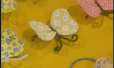 How to Create Butterfly Barrettes and Hair Ties
