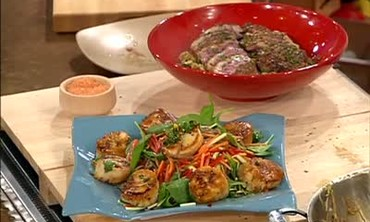 Duck Breast with Stir Fry and Scallop Salad Part 4