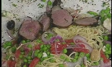Lamb Summer Salad and Beef with Portabellas Part 3