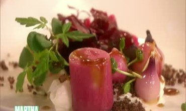 Pickled Beetroot and Radish Salad with Goat Cheese