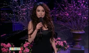 Sarah Brightman Performs a Single from Her CD Diva