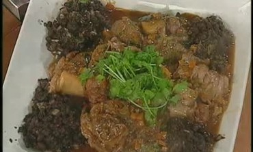 Veal Shank and Sweet Potatoes and Rum Bundt Part 1