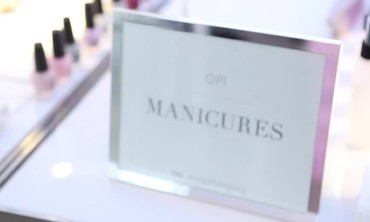 OPI Products Spotlight from MSW Bridal Market Party
