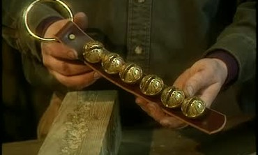 Vermont Craftsman Fred Merriam Makes Sleigh Bells