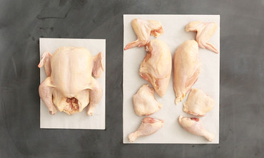 How to Cut a Chicken Into 8 Pieces in Under a Minute
