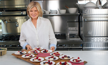 Martha Stewart's Toasted-Marshmallow Berry-Bite Recipe