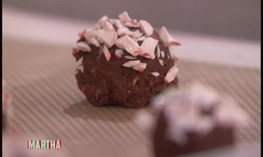 Chocolate Peppermint Holiday Cookies with Miss Piggy