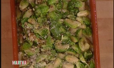 Bourbon-Braised Brussels Sprouts with Chef Jason Wilson