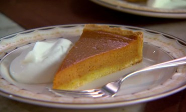 Baking Bonus: Pumpkin Tart with Press-in Shortbread Tart Shell