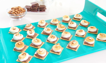 Martha Stewart's Milk Chocolate and Marshmallow Campfire S'more