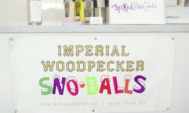 Imperial Woodpecker Sno-balls Spotlight from MSW Bridal Market Party