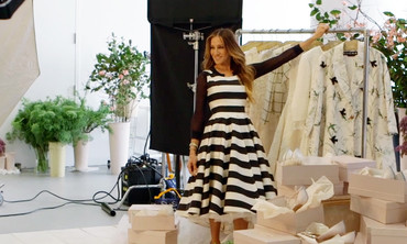 Behind the Scenes at Sarah Jessica Parker's Summer 2015 MSW Cover Shoot
