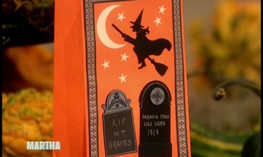 Stamped Halloween Invitations