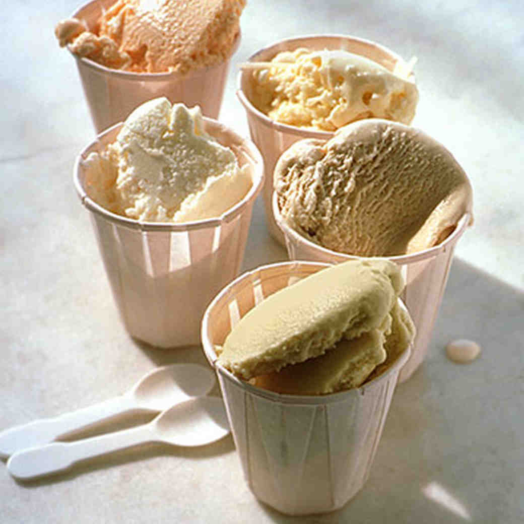 Gelato recipes
