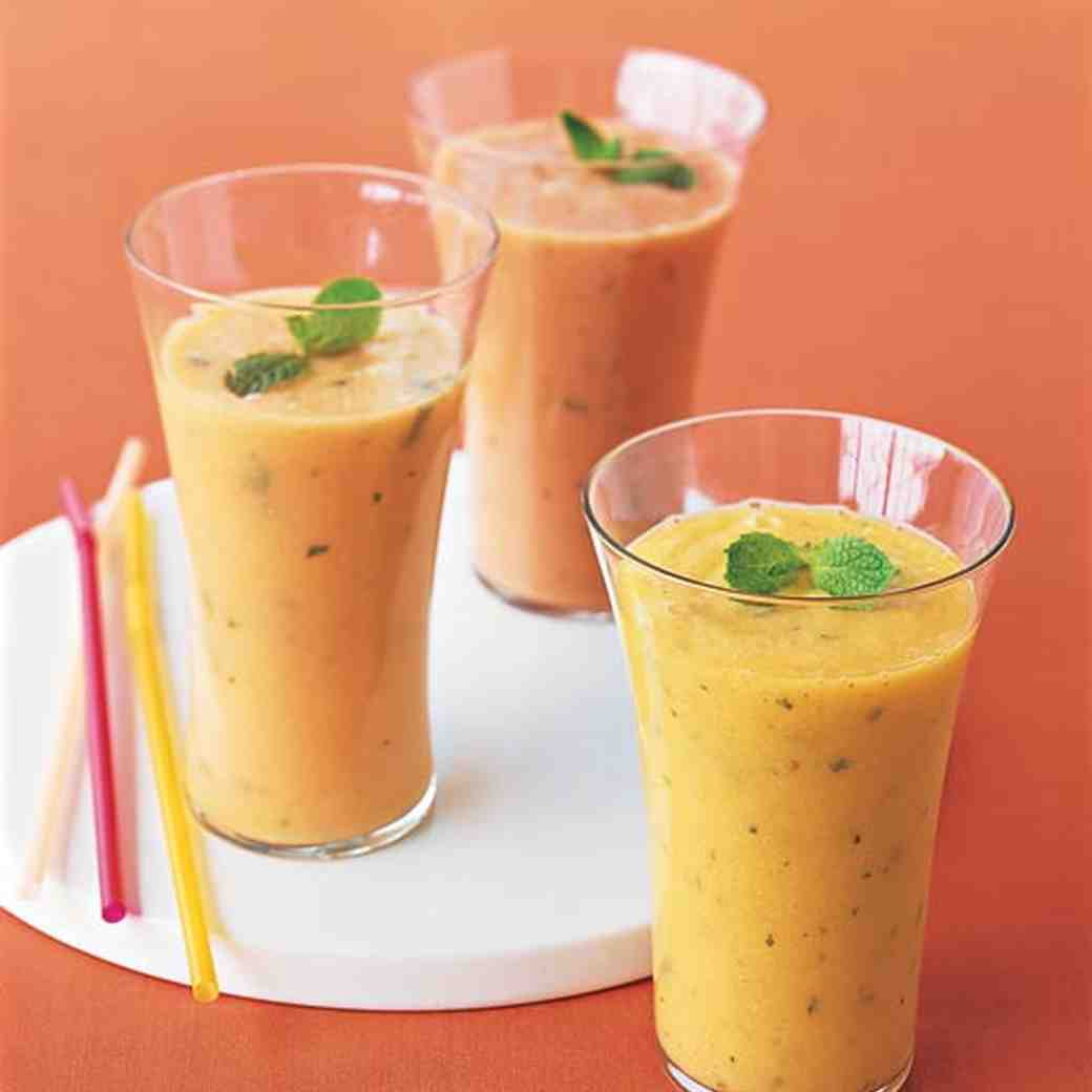 Papaya-Ginger Smoothie