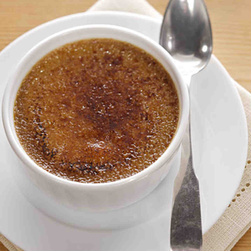 Espresso Creme Brulee Recipe Video Martha Stewart