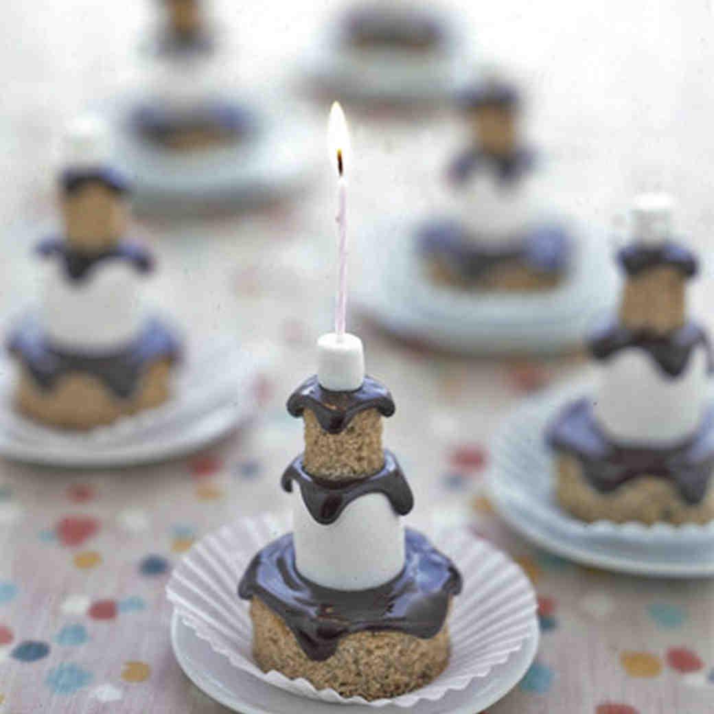 Smores Mini Cakes Recipe
