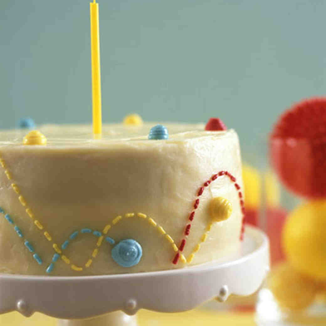 Bouncing Ball Cake Recipe