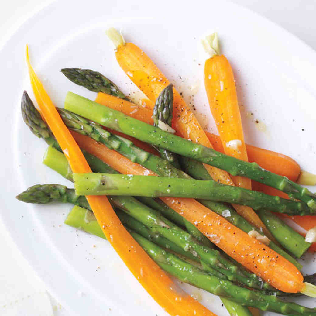Vegetables with Garlic Oil