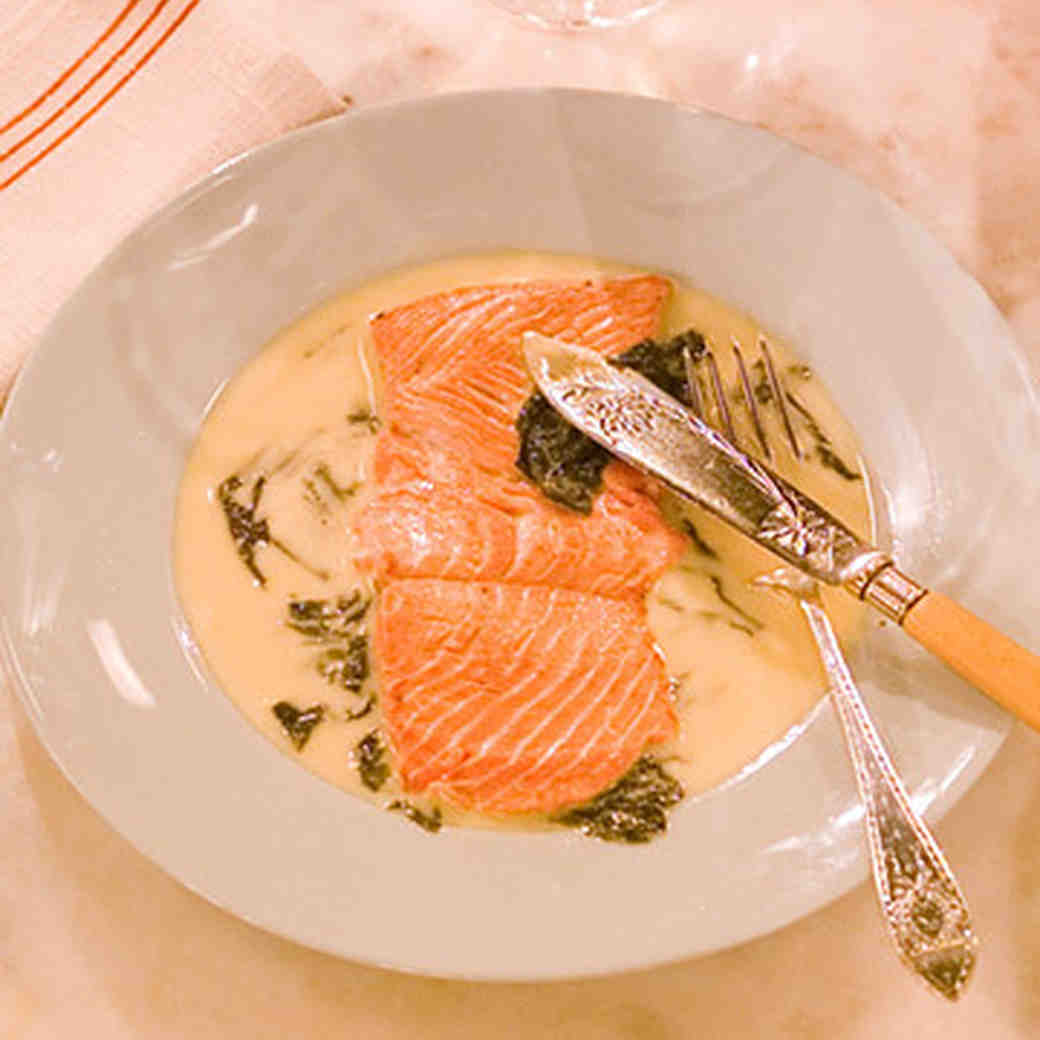 256af1abd053 Pierre s Salmon with Sorrel Recipe
