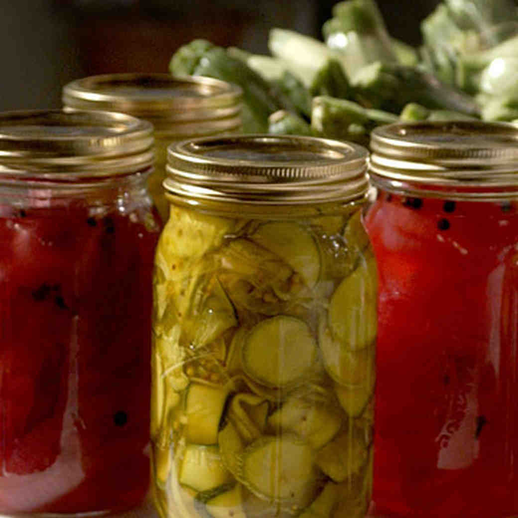 Judy S Zucchini Pickles Recipe Martha Stewart
