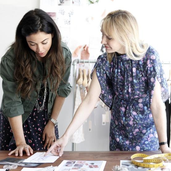 Designers Rebecca Taylor and Ali Mejia
