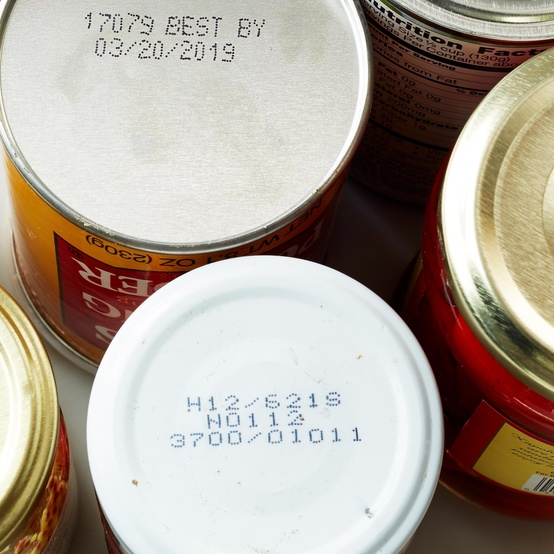 sell by date cans