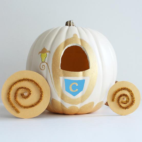 Cinderella pumpkin for Halloween