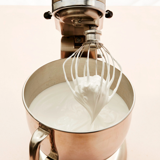 stand mixer and frosting