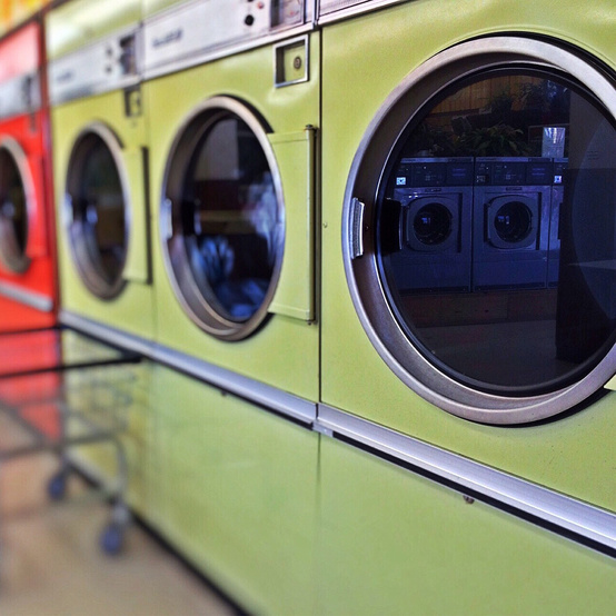 laundromat washing machine