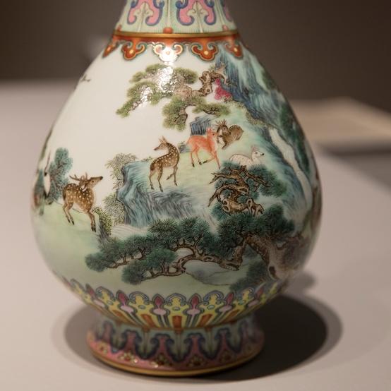 中国古典花瓶