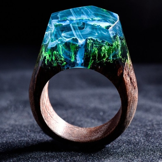 forest ring by secret wood
