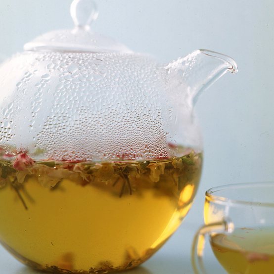 steeping tea