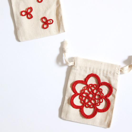 Doily Mini Bags
