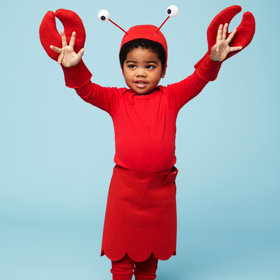 lobster halloween kids costume