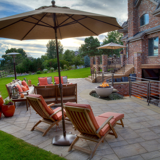 landscaping outdoor chairs patio