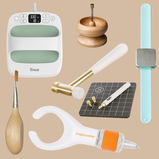 unique craft tools collage