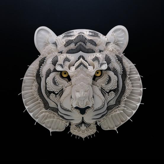 papercut tiger