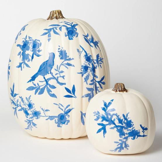 chinoiserie pumpkins